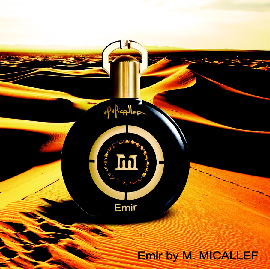 EMIR is part of... M Micallef Perfume Patchouli