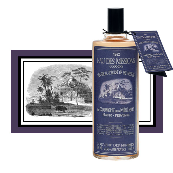 cologne of the missions le couvent des minimes perfume a. Black Bedroom Furniture Sets. Home Design Ideas