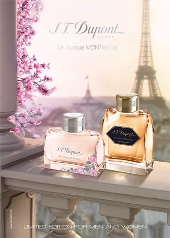58 Avenue Montaigne Pour Homme Limited Edition S.T. Dupont cologne ...