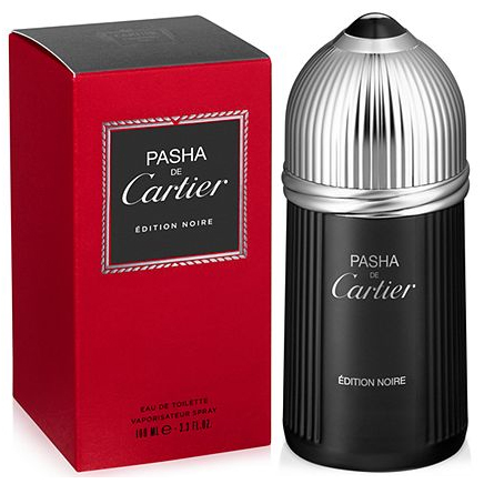 Pasha de Cartier Edition Noire Cartier cologne - a ...
