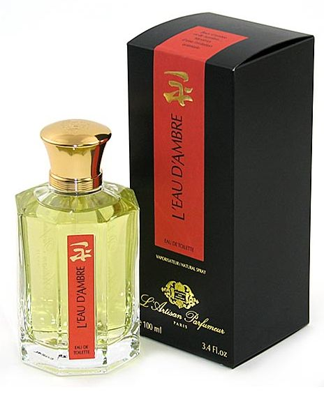 l 39 eau d 39 ambre l artisan parfumeur perfume a fragrance for women and men 1978. Black Bedroom Furniture Sets. Home Design Ideas