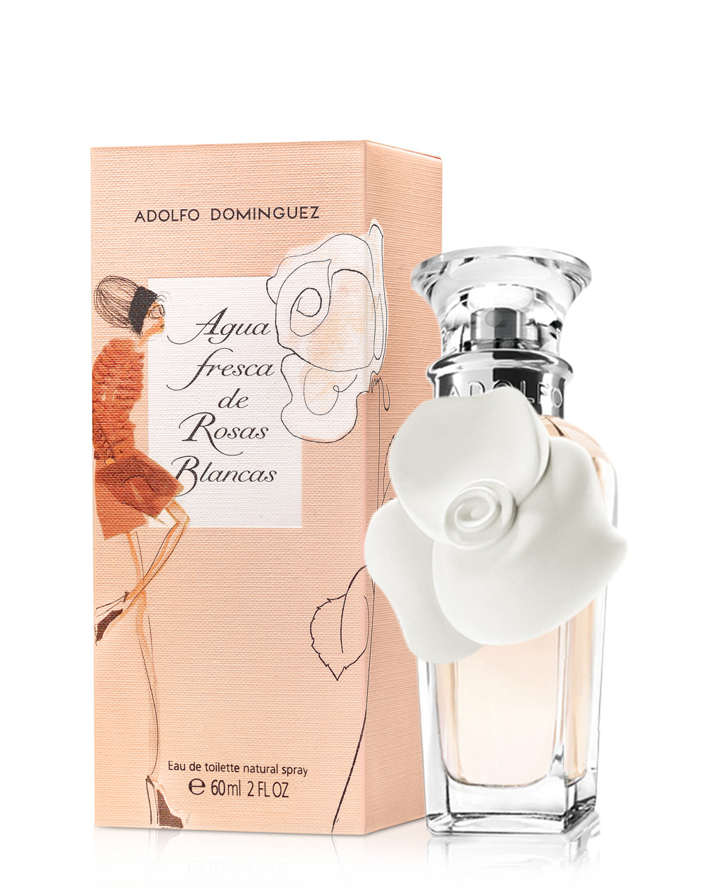 Agua fresca de rosas blancas adolfo dominguez perfume a for Ultimas noticias sobre adolfo dominguez