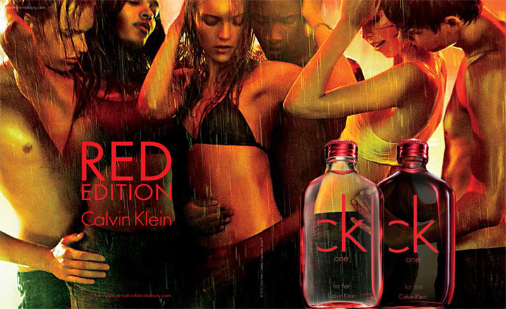 calvin klein ck one red edition for her review