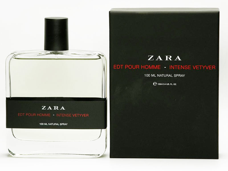 Intense vetyver zara cologne a fragrance for men - Prix parfum zara homme ...
