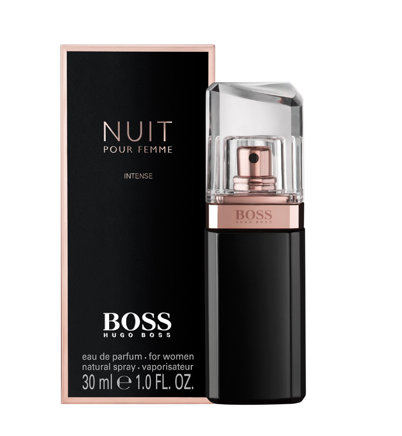 boss nuit pour femme intense hugo boss perfume a fragrance for women 2014. Black Bedroom Furniture Sets. Home Design Ideas