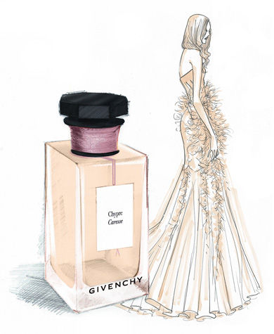 chypre caresse givenchy perfume a fragrance for women and men 2014. Black Bedroom Furniture Sets. Home Design Ideas