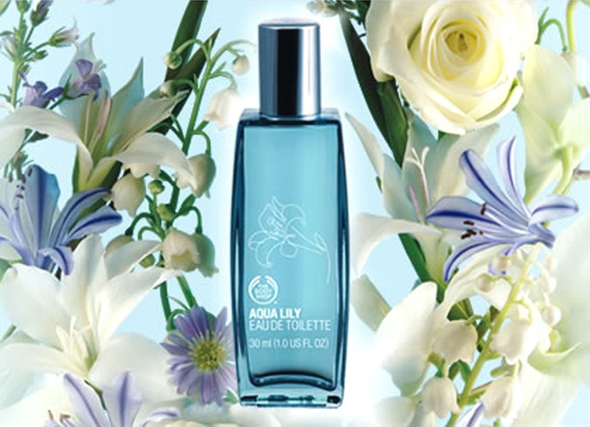 Aqua Lily 2008 The Body Shop Perfume A Fragrance For