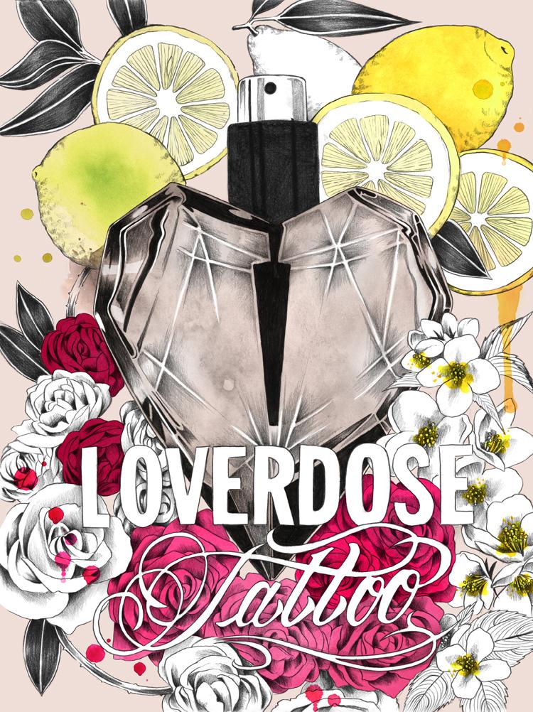 Loverdose Tattoo Eau de Toilette Diesel perfume - a
