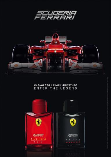 Scuderia Ferrari Black Signature Ferrari cologne - a ...