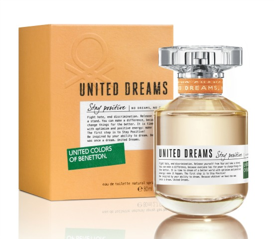 united dreams stay positive benetton perfume a fragrance