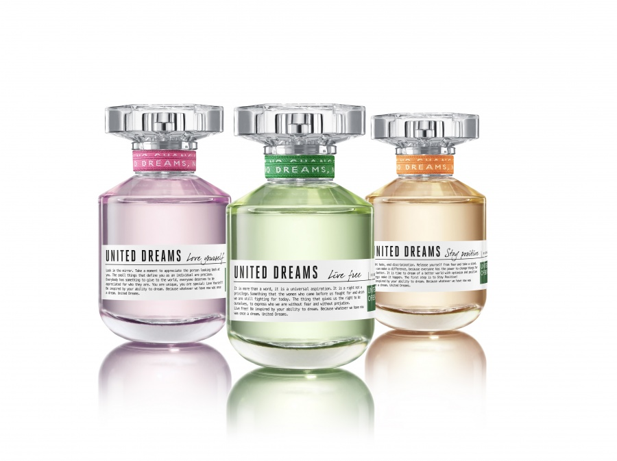 United Dreams Live Free Benetton Perfume A Fragrance For