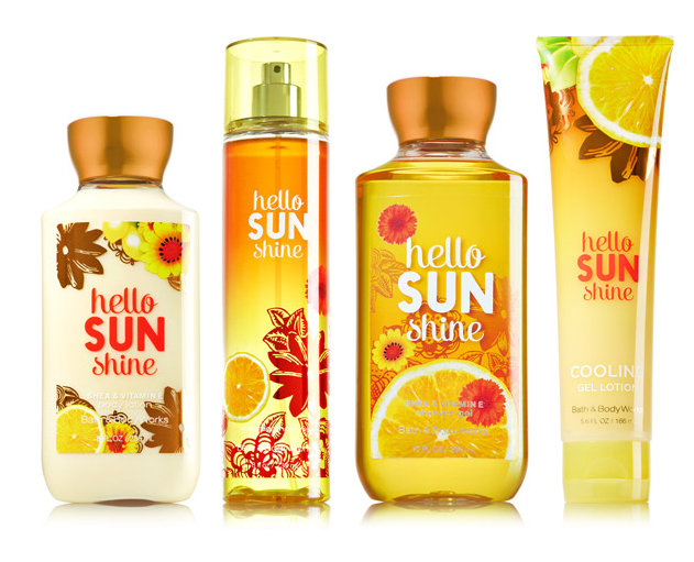 Hello Sunshine Bath And Body Works Perfume A Fragrance
