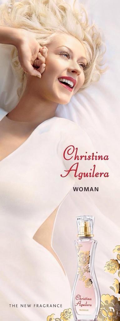 woman christina aguilera perfume a fragrance for women 2014. Black Bedroom Furniture Sets. Home Design Ideas