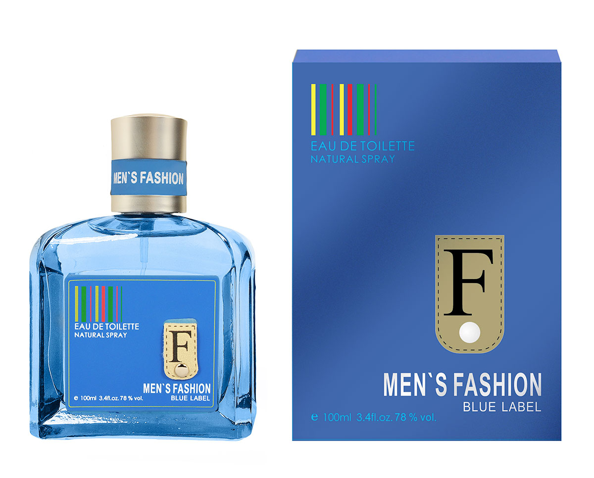 Men`s Fashion Blue Label Parfums Genty cologne