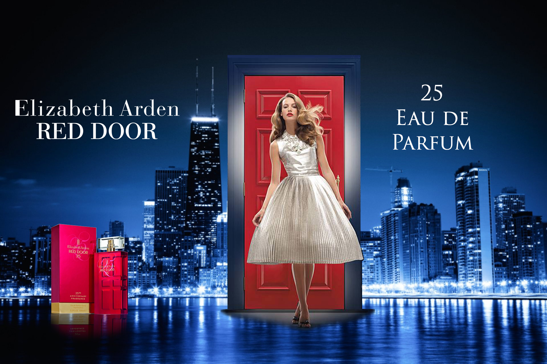 door limited a perfume edition women fragrance elizabeth for arden red