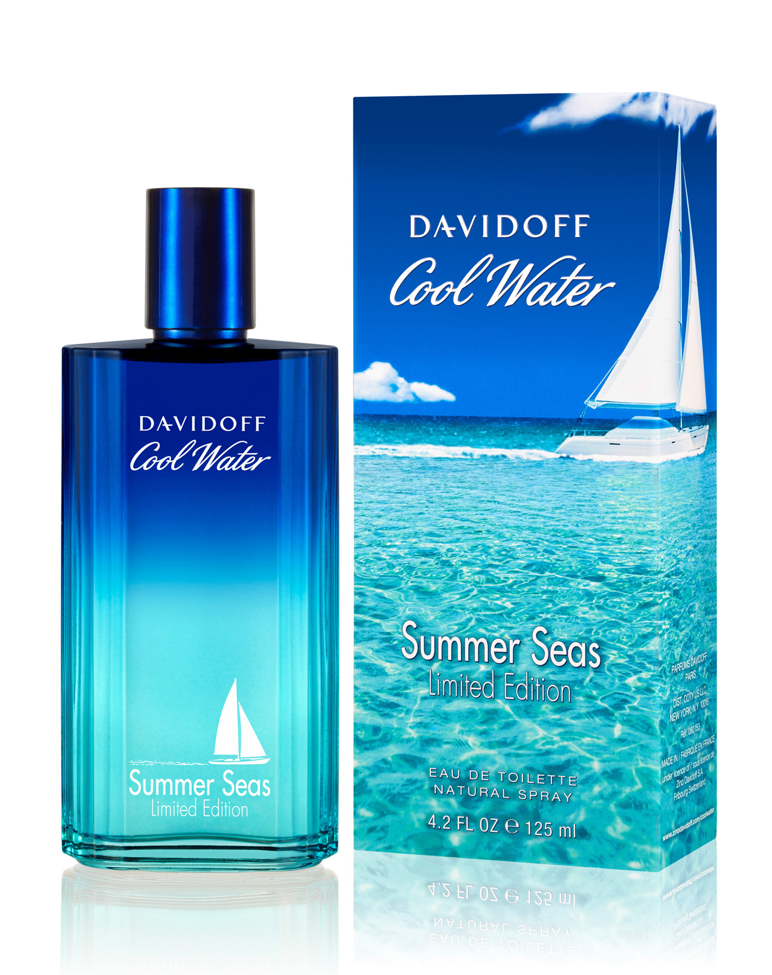 Cool Water Man Summer Seas Davidoff cologne