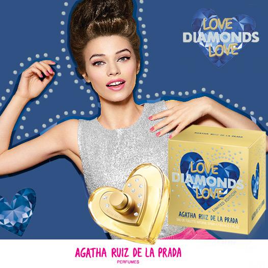 Love diamonds love agatha ruiz de la prada perfume a new - Carrelage agatha ruiz dela prada ...