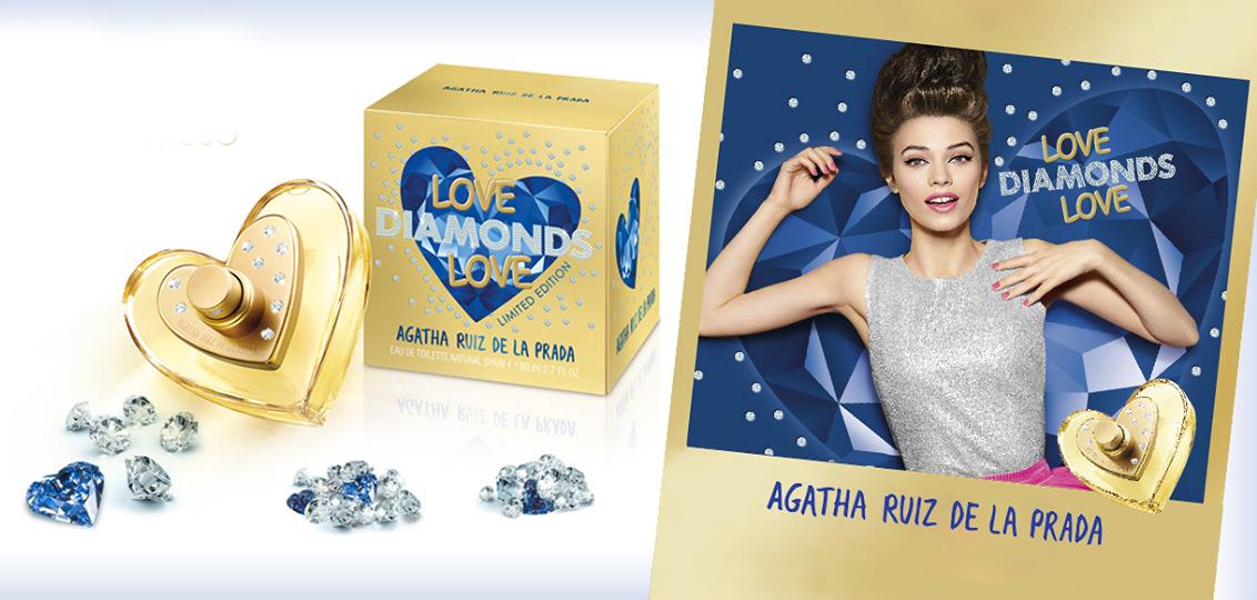 Love diamonds love agatha ruiz de la prada perfume a new for Carrelage agatha ruiz dela prada