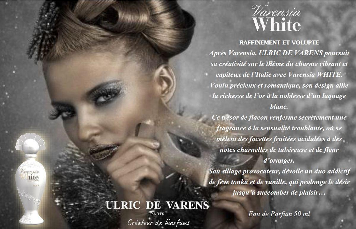 Varensia white ulric de varens perfume a fragrance for women 2014 - Perfume ottomane ulric de varens ...