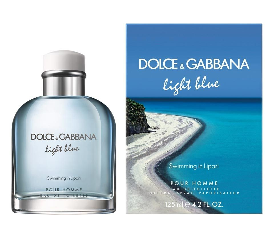 Swimming in Lipari, New Edition Limited Fragrance of Dolce & Gabbana Light Blue