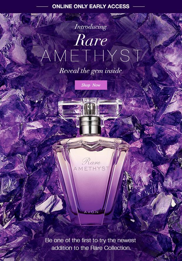 Rare Amethyst Avon Perfume A New Fragrance For Women 2015