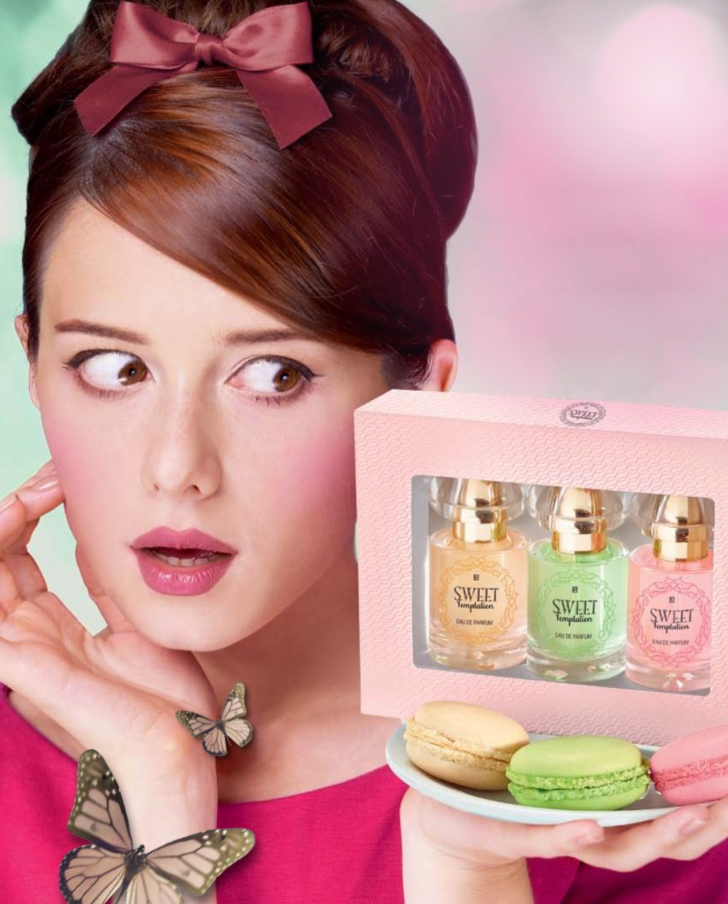 Sweet Temptation Pink LR perfume - a new fragrance for ...