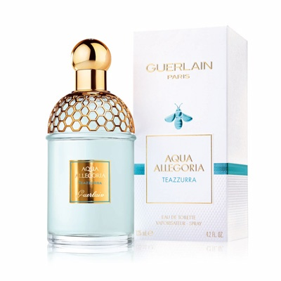 teazzurra guerlain perfume a new fragrance for women and men 2015. Black Bedroom Furniture Sets. Home Design Ideas