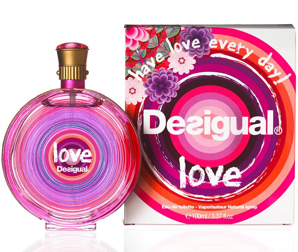 Love Desigual perfume - a fragrance for women 2014