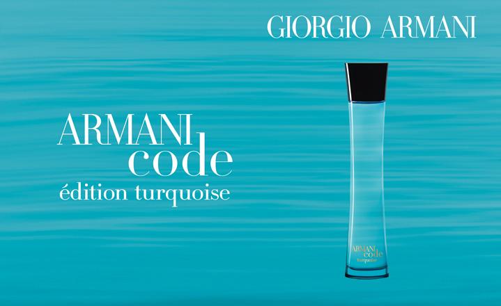 armani code turquoise for women giorgio armani parfum. Black Bedroom Furniture Sets. Home Design Ideas