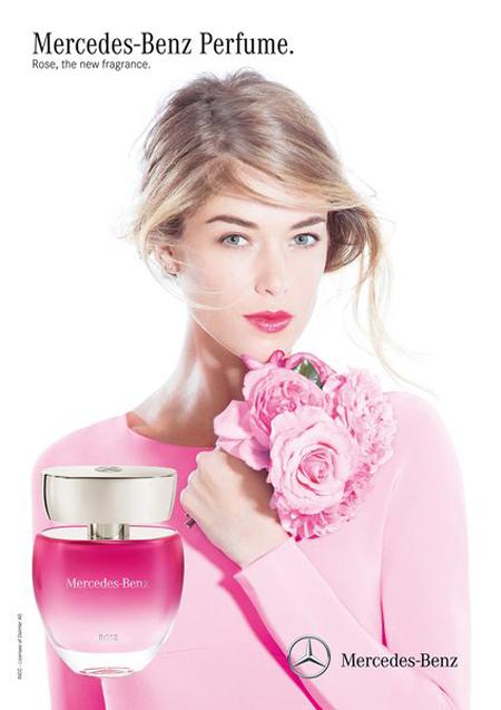 rose mercedes benz perfume a new fragrance for women 2015. Black Bedroom Furniture Sets. Home Design Ideas