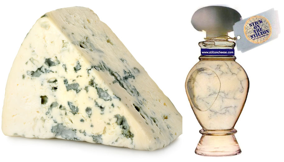 Image result for stilton cheese perfume