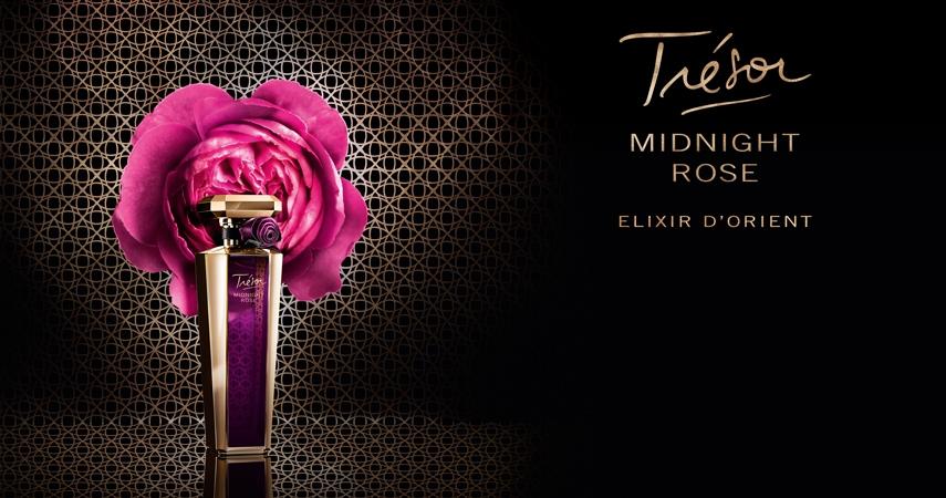 Tresor midnight rose elixir d orient lancome perfume una for Rosier princesse d orient