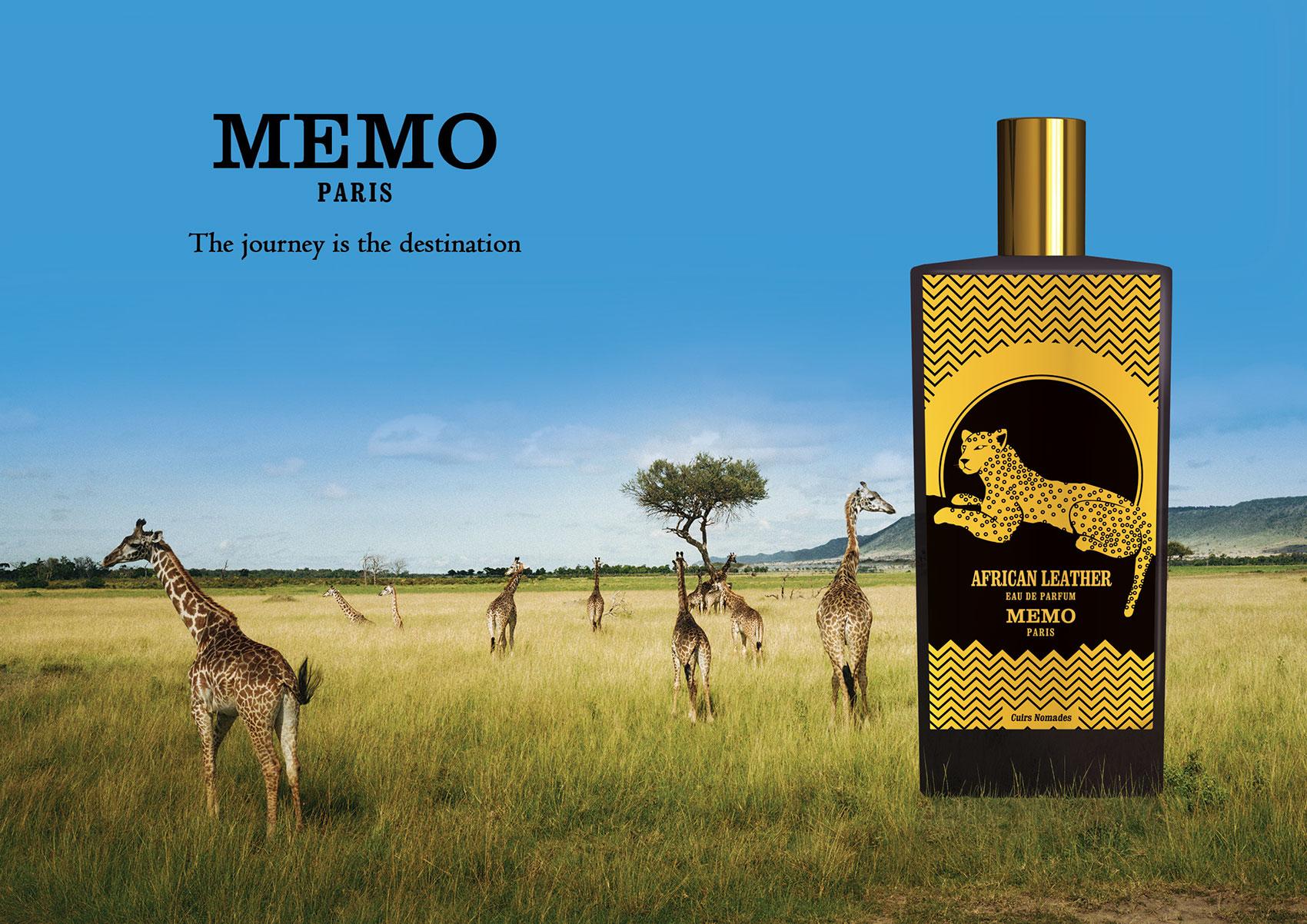 african leather memo paris parfem novi parfem za ene i mu karce 2015. Black Bedroom Furniture Sets. Home Design Ideas