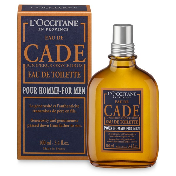 eau de cade l occitane en provence cologne a fragrance for men 2014. Black Bedroom Furniture Sets. Home Design Ideas