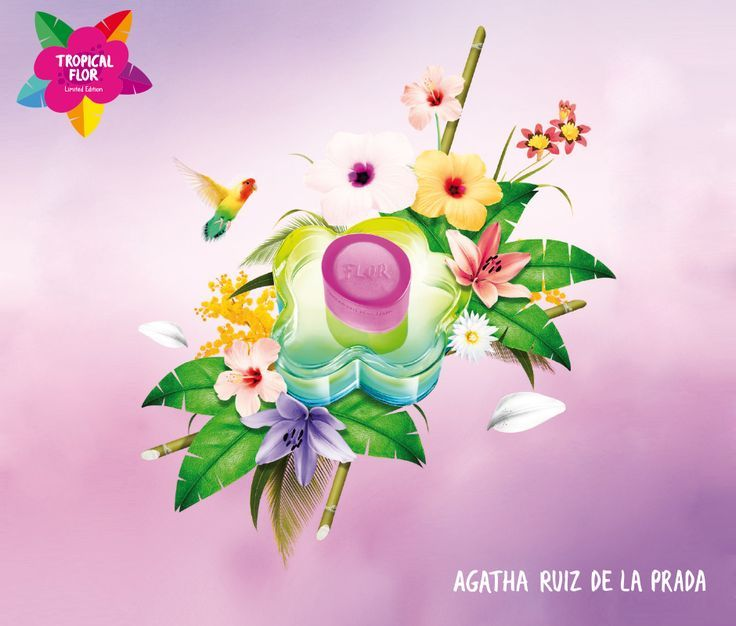 Tropical Flor Agatha Ruiz de la Prada perfume - a fragrance for ...
