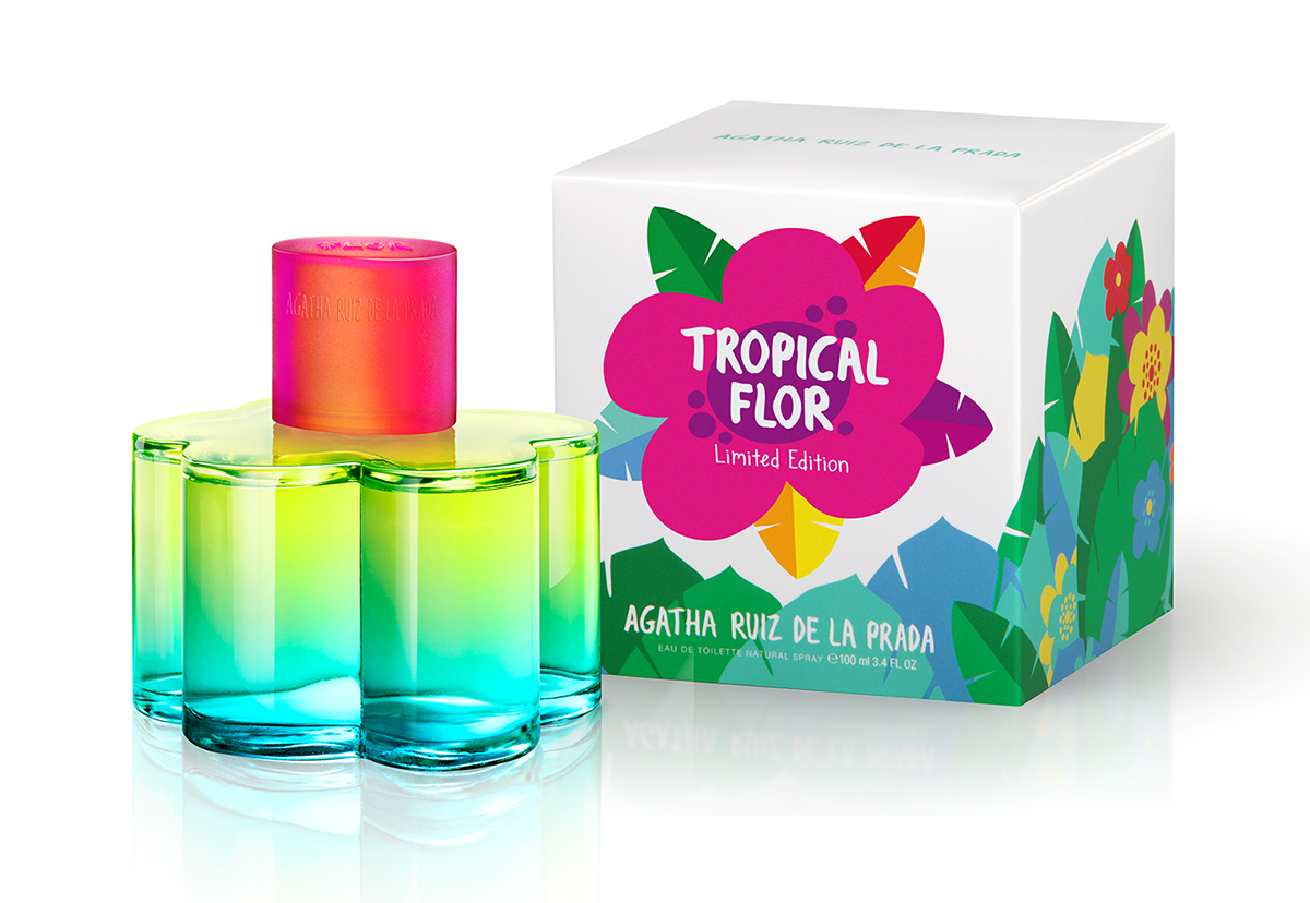 tropical flor agatha ruiz de la prada perfume a fragrance for women 2014. Black Bedroom Furniture Sets. Home Design Ideas