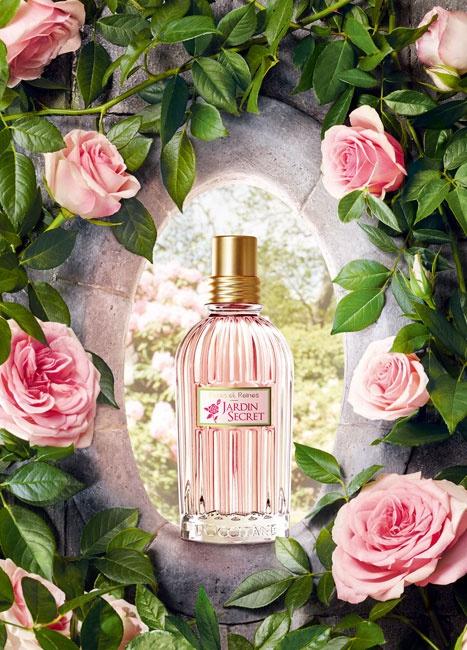 Roses et reines jardin secret l occitane en provence for Jardin roses