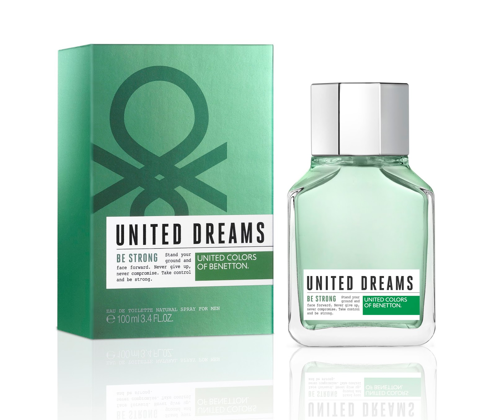 United Dreams Men Be Strong Benetton cologne