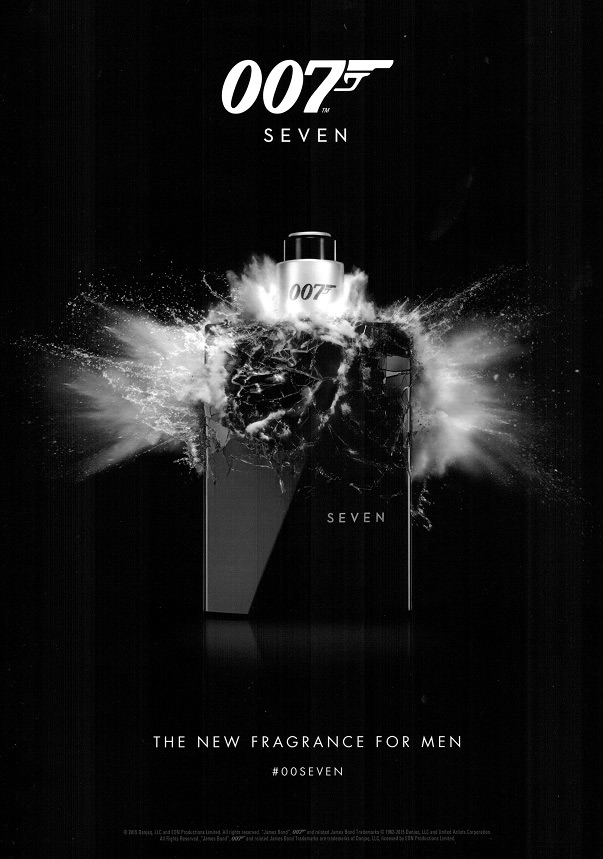 James Bond 007 Seven Eon Productions Cologne A New Fragrance For