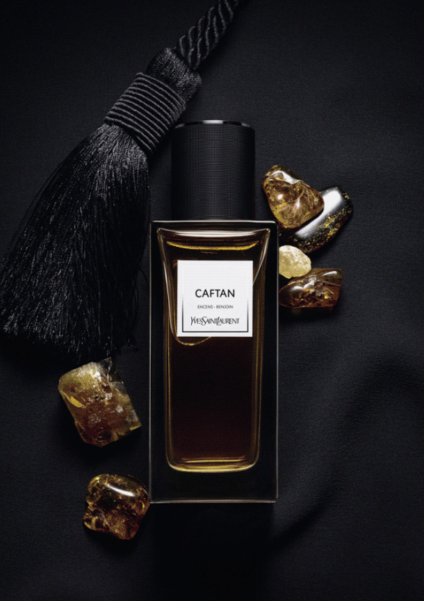 caftan yves saint laurent parfum un nouveau parfum pour homme et femme 2015. Black Bedroom Furniture Sets. Home Design Ideas