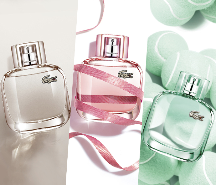 eau de lacoste pour elle natural lacoste fragrances parfum un nouveau parfum pour. Black Bedroom Furniture Sets. Home Design Ideas