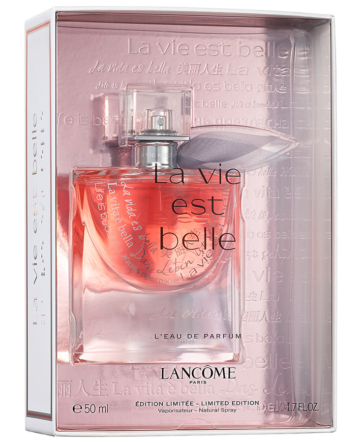 la vie est belle christmas edition lancome perfume a new. Black Bedroom Furniture Sets. Home Design Ideas