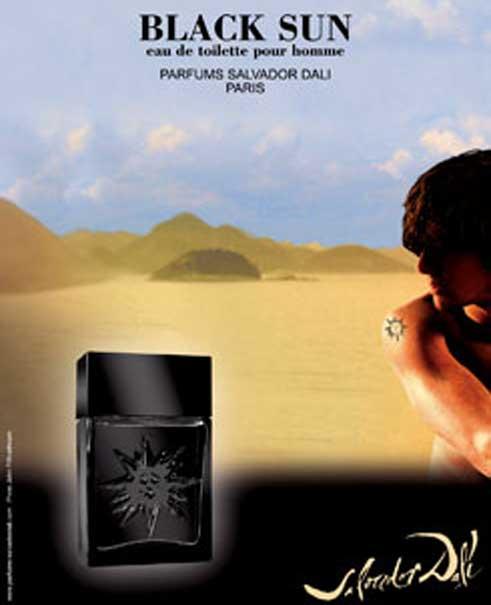 Картинки по запросу Salvador Dali Black Sun 30ml