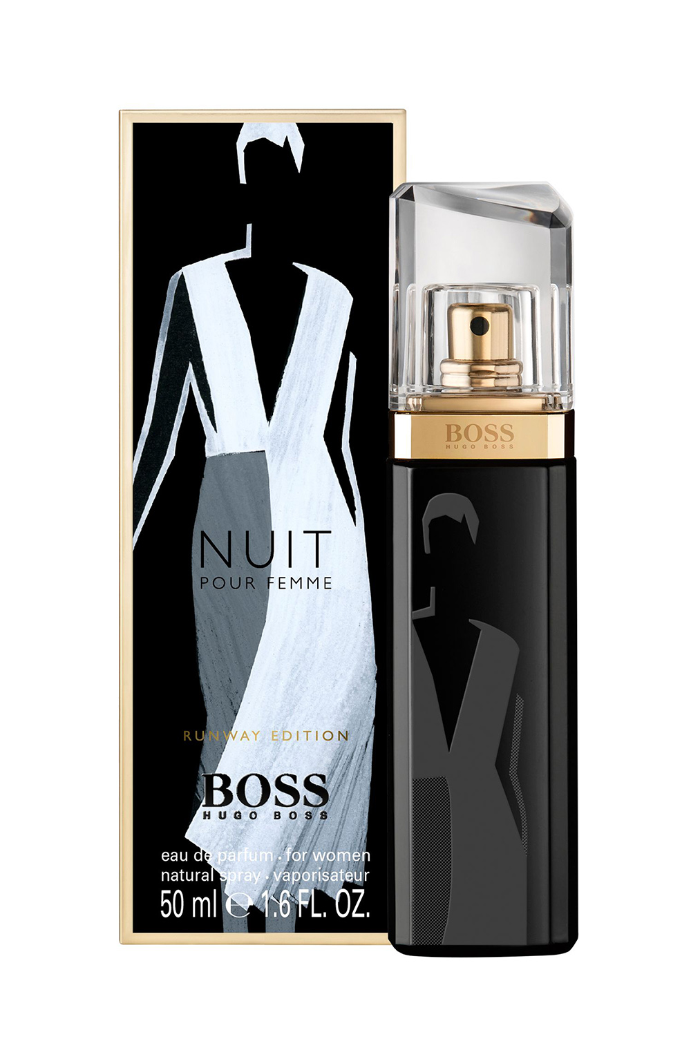 boss nuit pour femme runway edition hugo boss perfume a. Black Bedroom Furniture Sets. Home Design Ideas