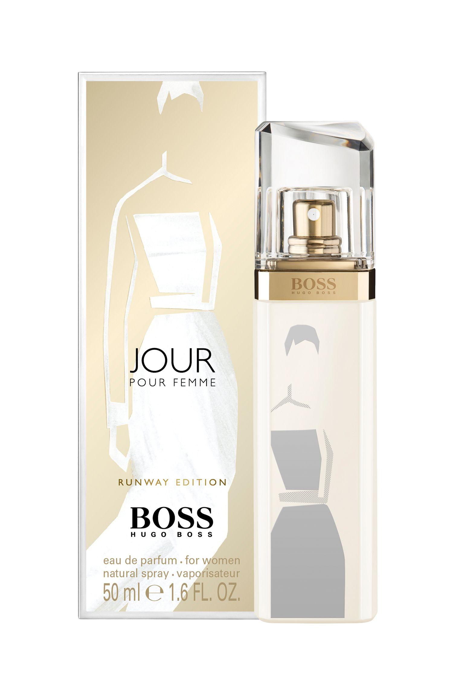 boss jour pour femme runway edition hugo boss perfume a. Black Bedroom Furniture Sets. Home Design Ideas