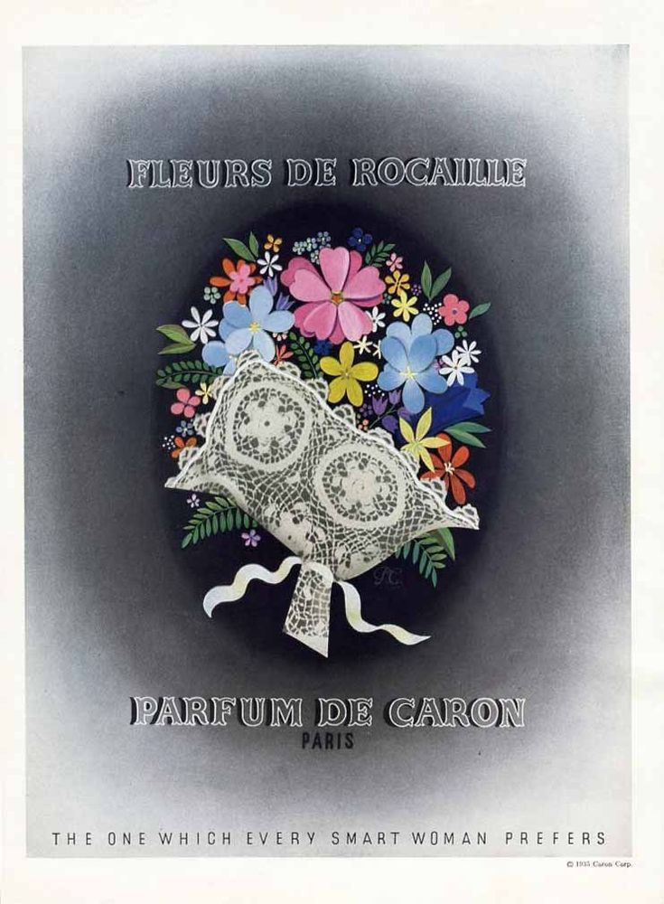 fleurs de rocaille caron perfume a fragrance for women 1934. Black Bedroom Furniture Sets. Home Design Ideas