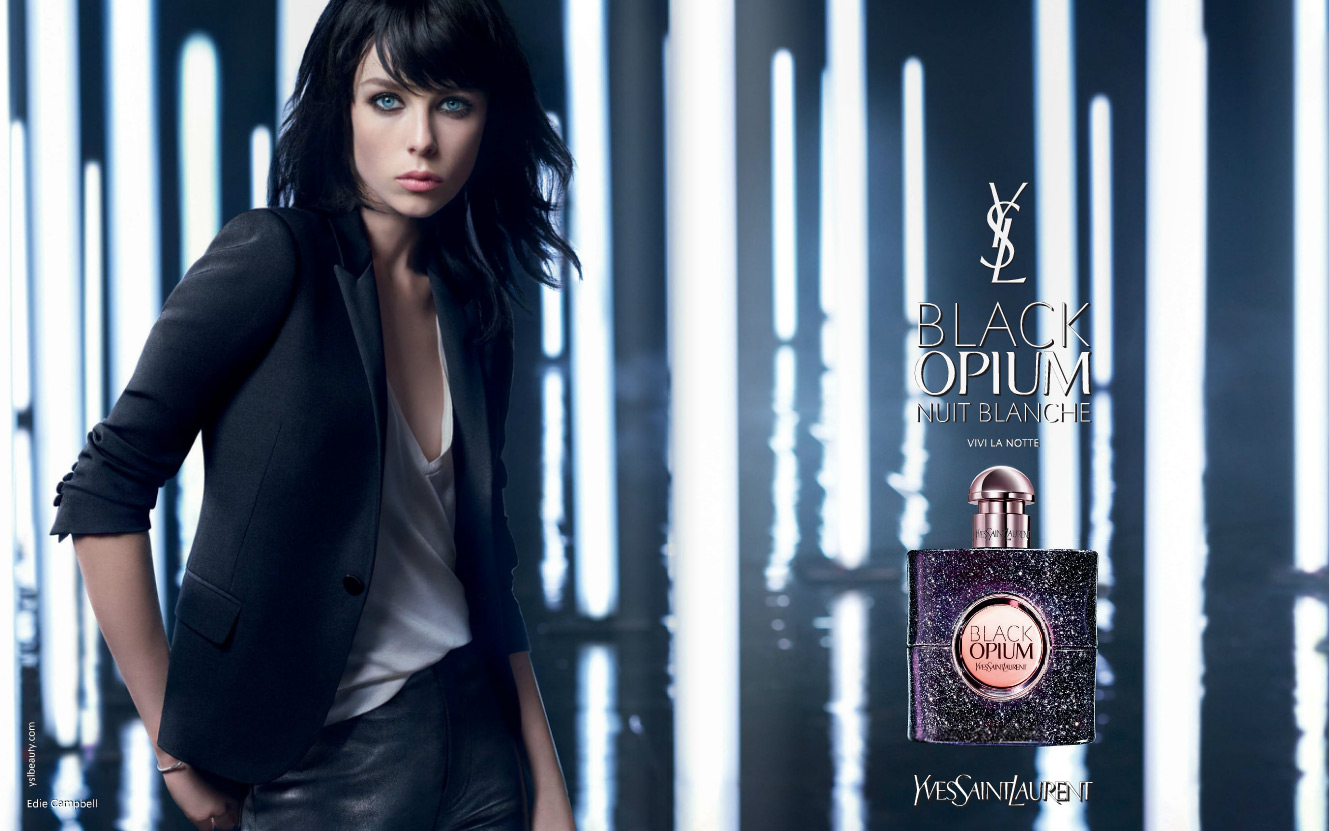 black opium nuit blanche yves saint laurent parfum un nouveau parfum pour femme 2016. Black Bedroom Furniture Sets. Home Design Ideas