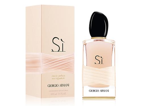 si rose signature giorgio armani parfum un nouveau parfum pour femme 2016. Black Bedroom Furniture Sets. Home Design Ideas