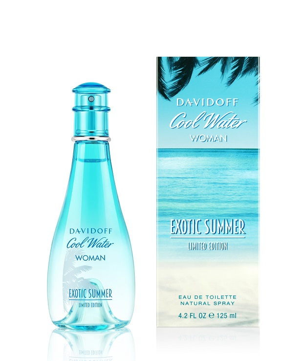 cool water woman exotic summer davidoff perfume a new. Black Bedroom Furniture Sets. Home Design Ideas