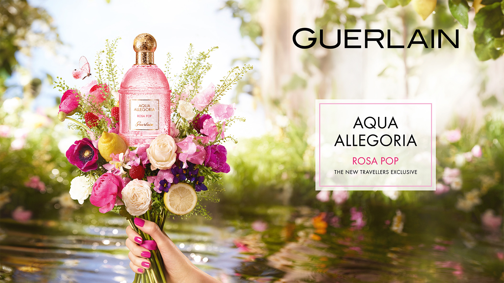 Aqua Allegoria Rosa Pop Guerlain Perfume A New Fragrance